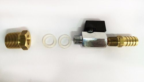 Registro Mini-Válvula MxF Latão Completo 1/2