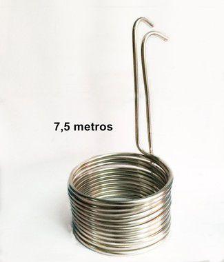 Chiller Resfriador de Mosto 7,5m - Alumínio