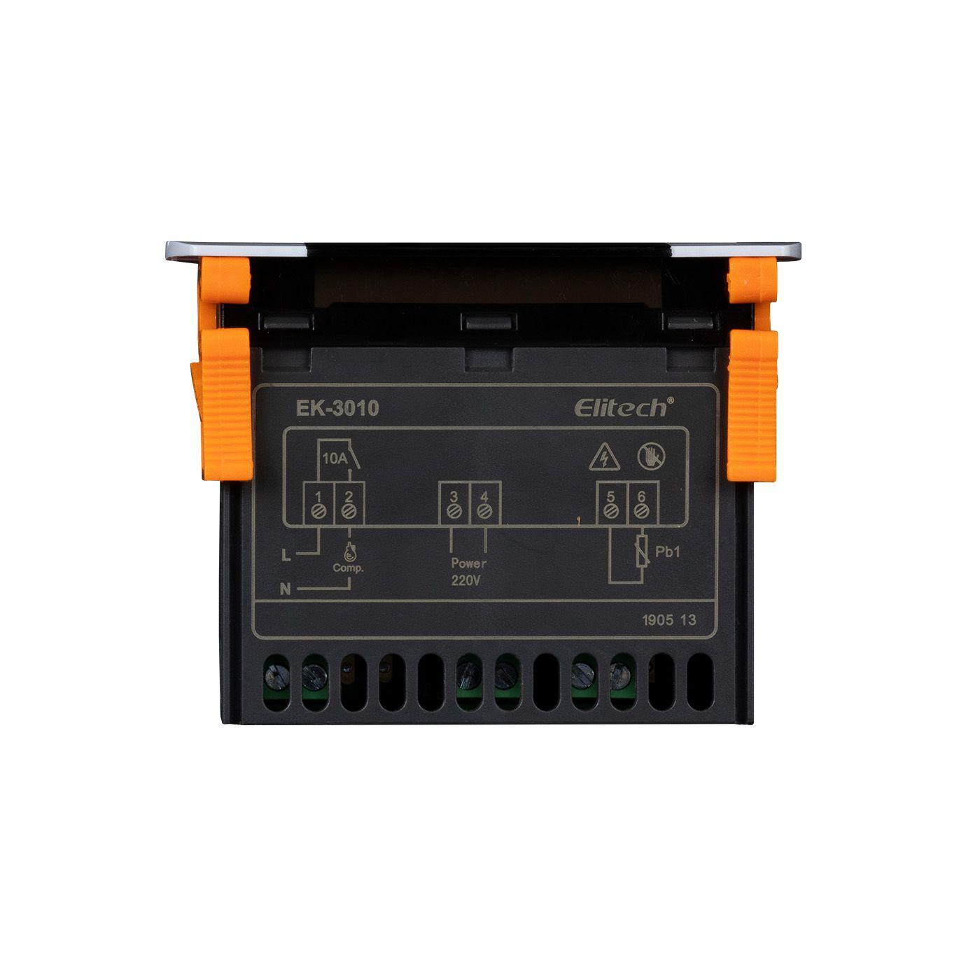 Controlador Digital de Temperatura / Termostato EK-3010 para Cerveja Artesanal