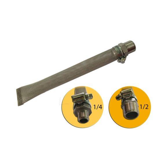 Filtro Bazooka Inox 304 para Cerveja Artesanal 20cm
