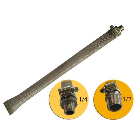 Filtro Bazooka Inox 304 para Cerveja Artesanal 30cm