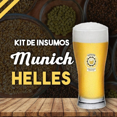 Insumo Cerveja Artesanal Munich Helles 10 Litros+balde 12,5l