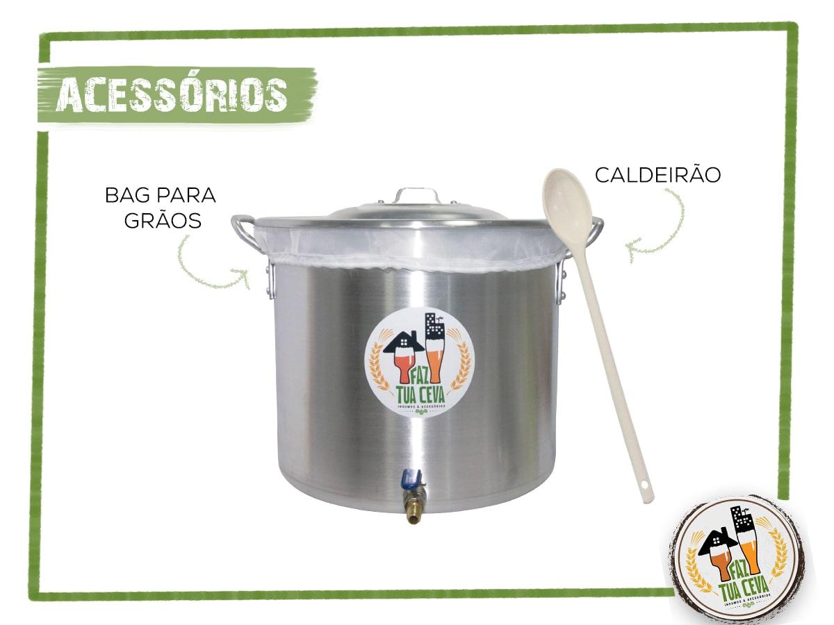 Kit Cervejeiro Até 30L BIAB - Completo