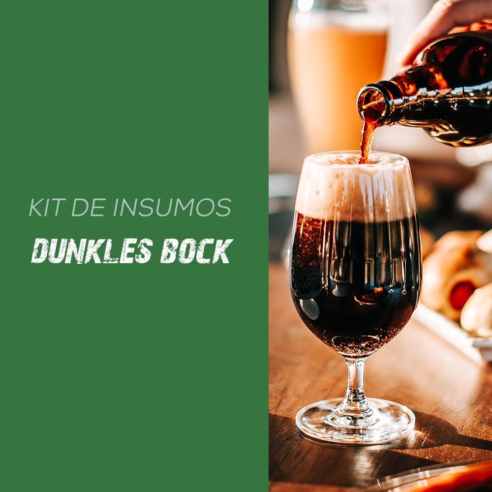 Kit de Insumos Receita Cerveja Artesanal Dunkles Bock (Tradicional)