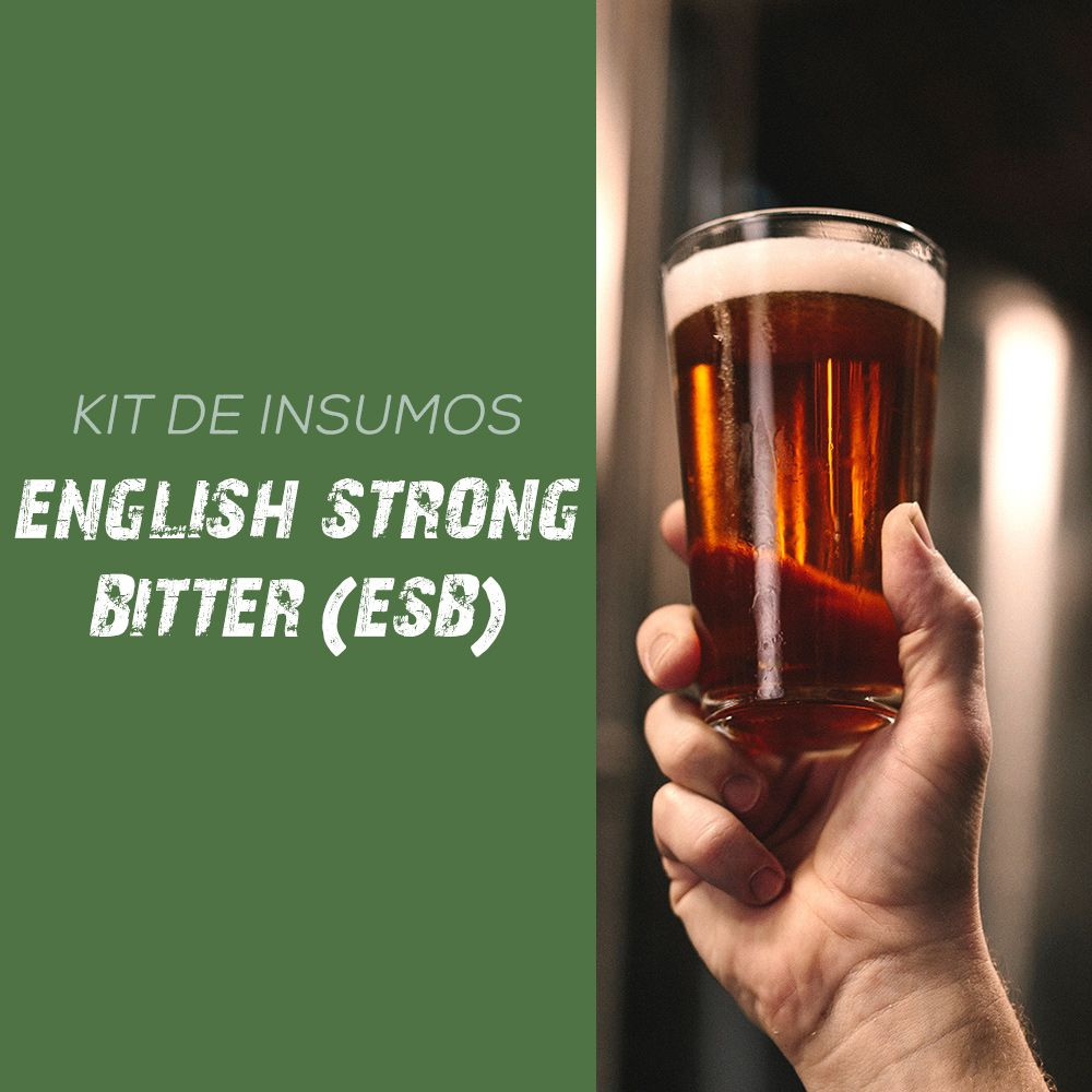 Kit de Insumos Receita Cerveja Artesanal English Strong Bitter (ESB)