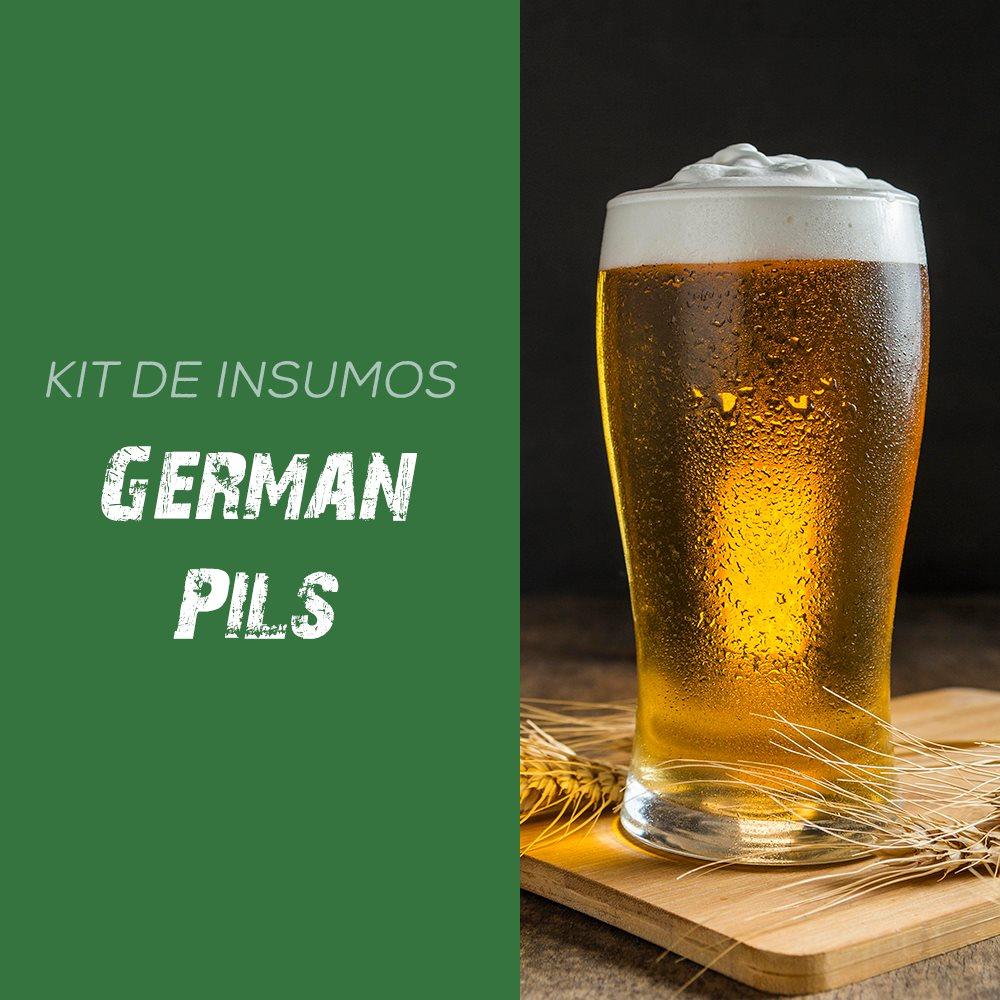 Kit de Insumos Receita Cerveja Artesanal German Pils