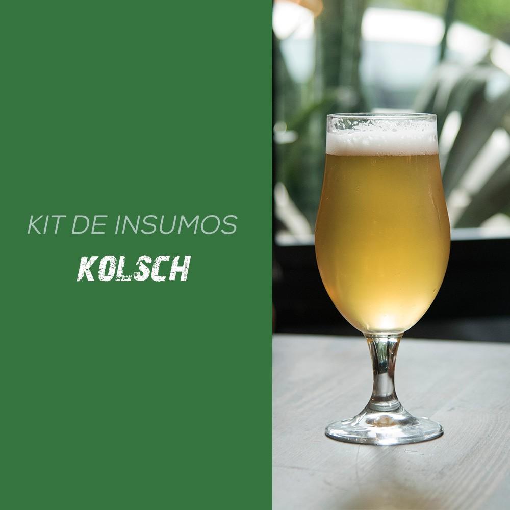 Kit de Insumos Receita Cerveja Artesanal Kolsch