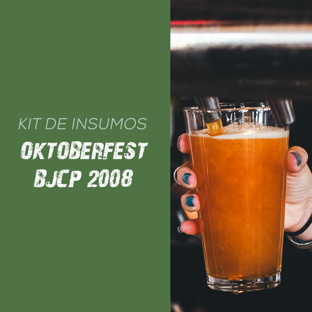 Kit de Insumos Receita Cerveja Artesanal Oktoberfest (BJCP 2008)