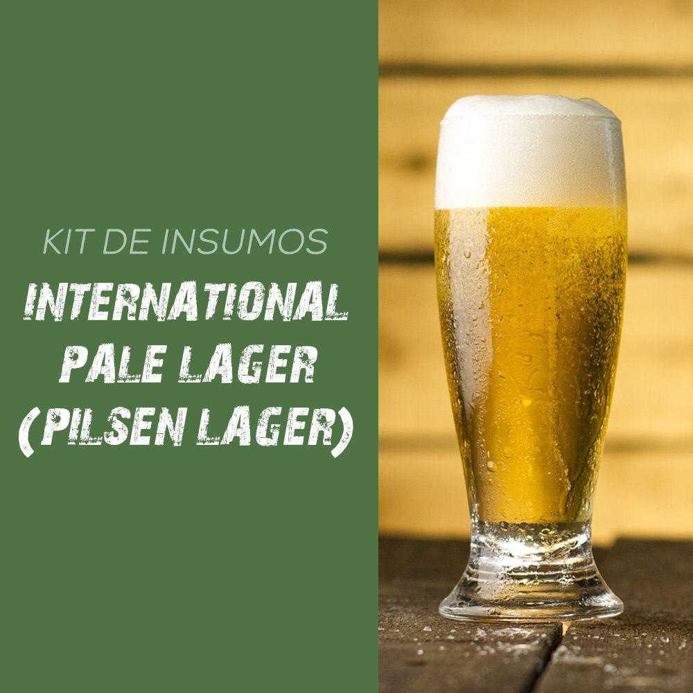 Kit de Insumos Receita Cerveja Artesanal Pilsen Lager (International Pale Lager)