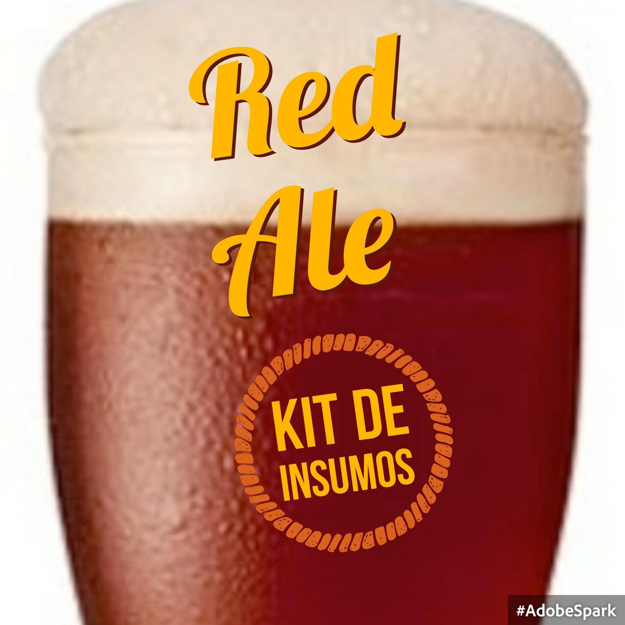 Kit de Insumos Receita Cerveja Artesanal Red Ale (Scottish Export)