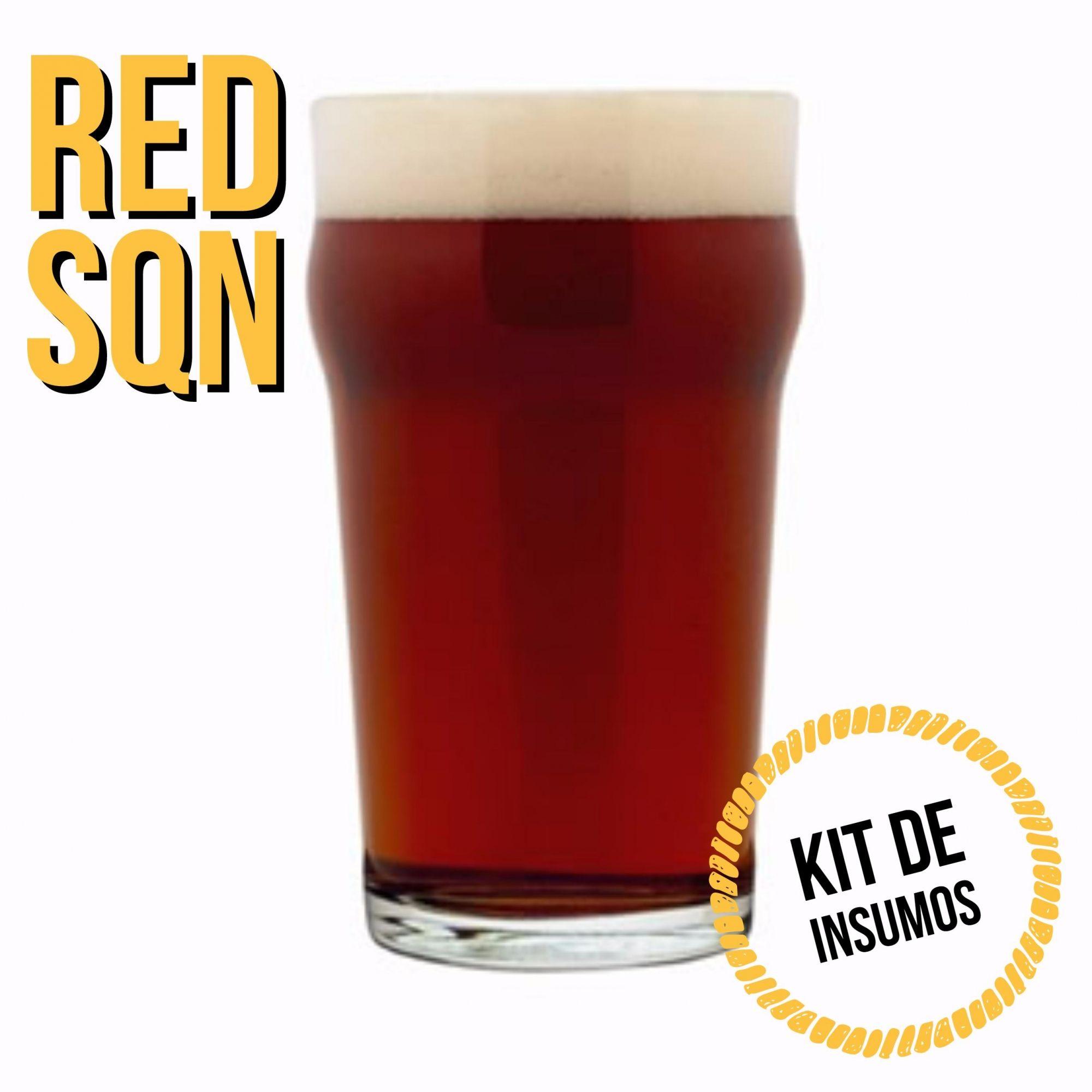 Kit de Insumos Receita Cerveja Artesanal Red - SQN
