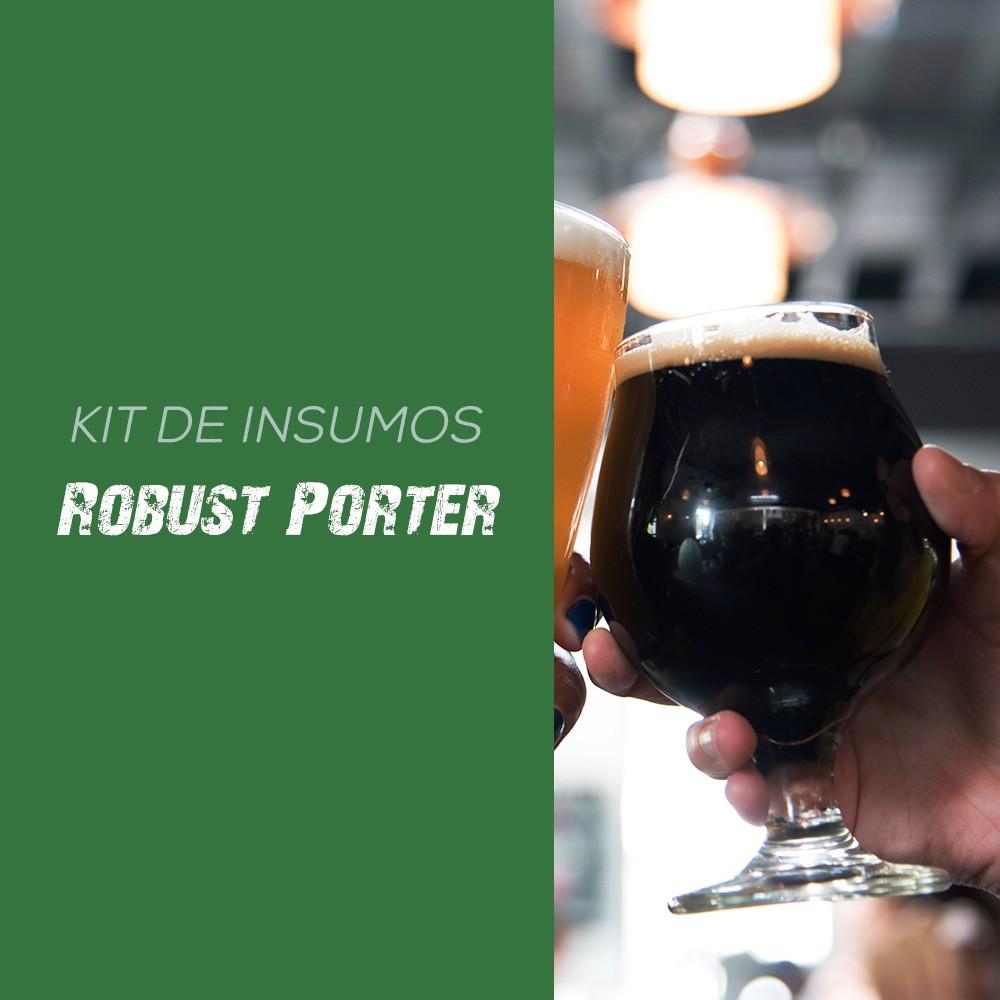 Kit de Insumos Receita Cerveja Artesanal Robust Porter
