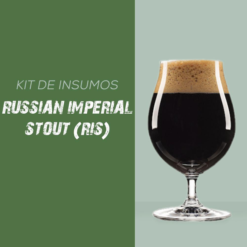 Kit de Insumos Receita Cerveja Artesanal Russian Imperial Stout (RIS)