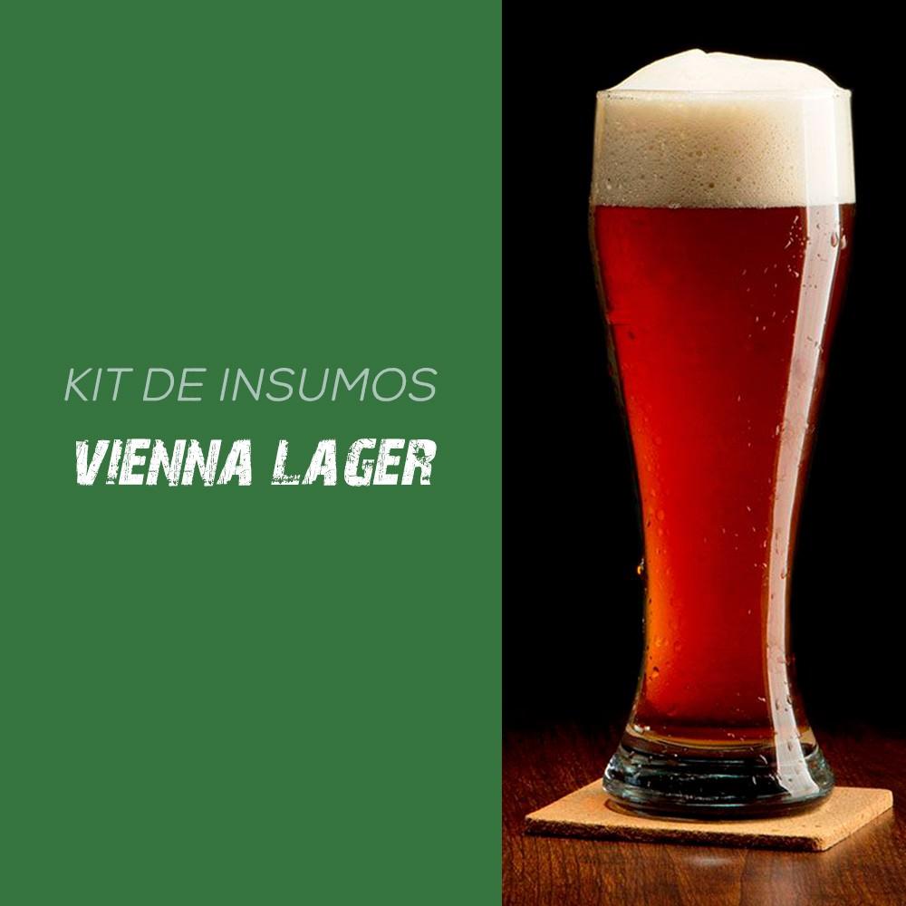 Kit de Insumos Receita Cerveja Artesanal Vienna Lager