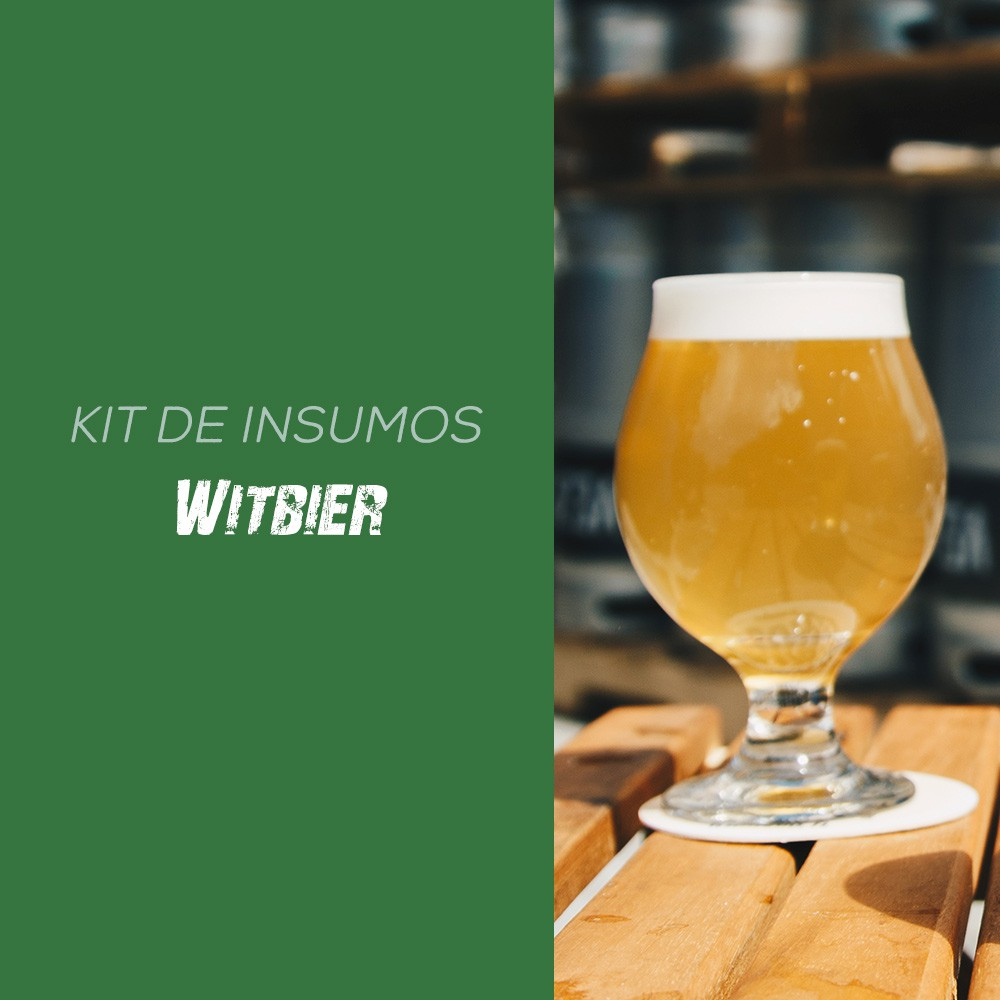 Kit de Insumos Receita Cerveja Artesanal Witbier