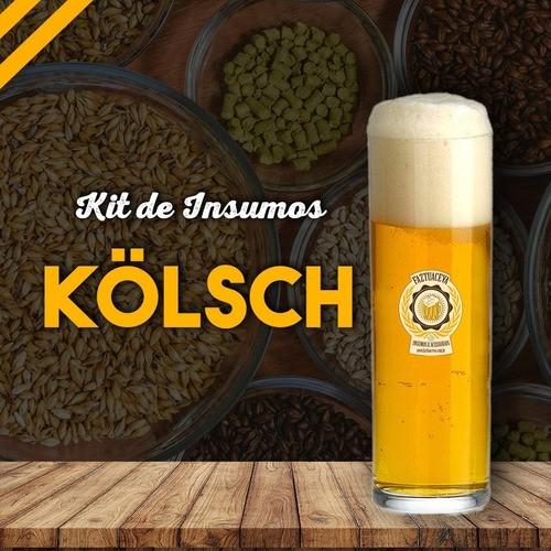Kit Insumos Cerveja Artesanal Kolsch 10 Litros + Balde 12,5l