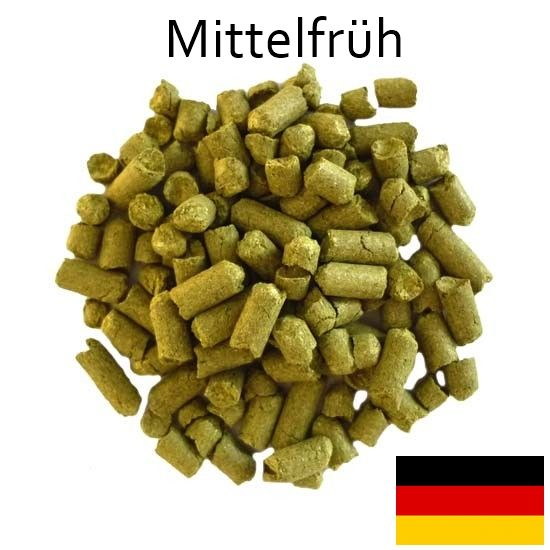 Lúpulo Hallertau Mittelfrüh - Pellet