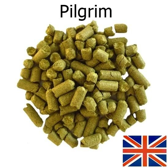 Lúpulo Pilgrim - Pellet