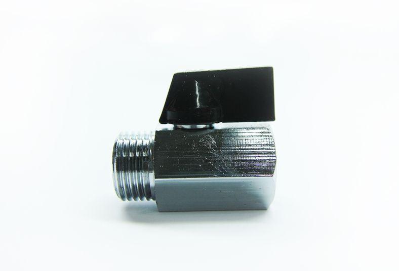 "Válvula Esfera Mini Macho x Fêmea - 1/2"" (Latão)"