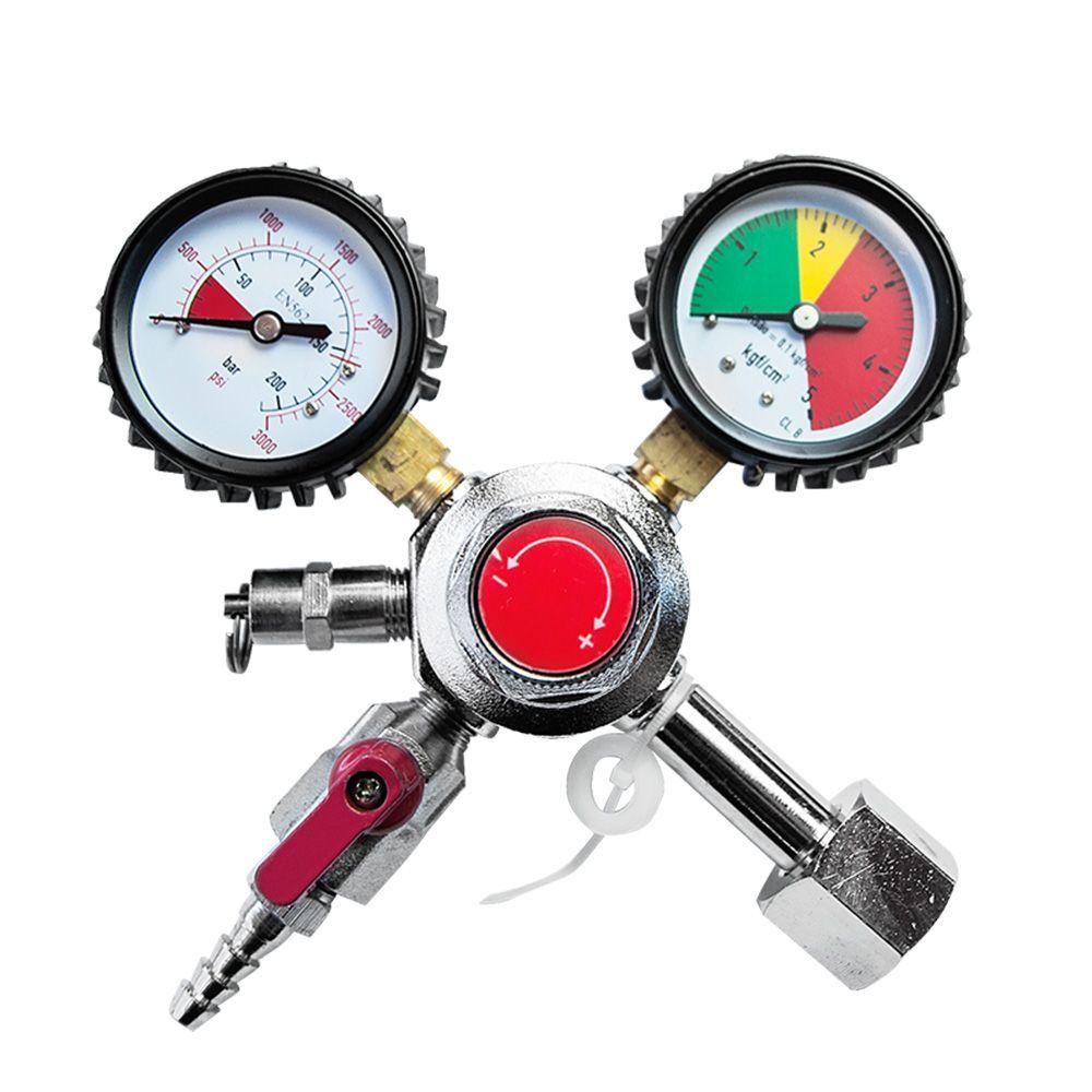Regulador de Pressão 01 Via Manual para CO2