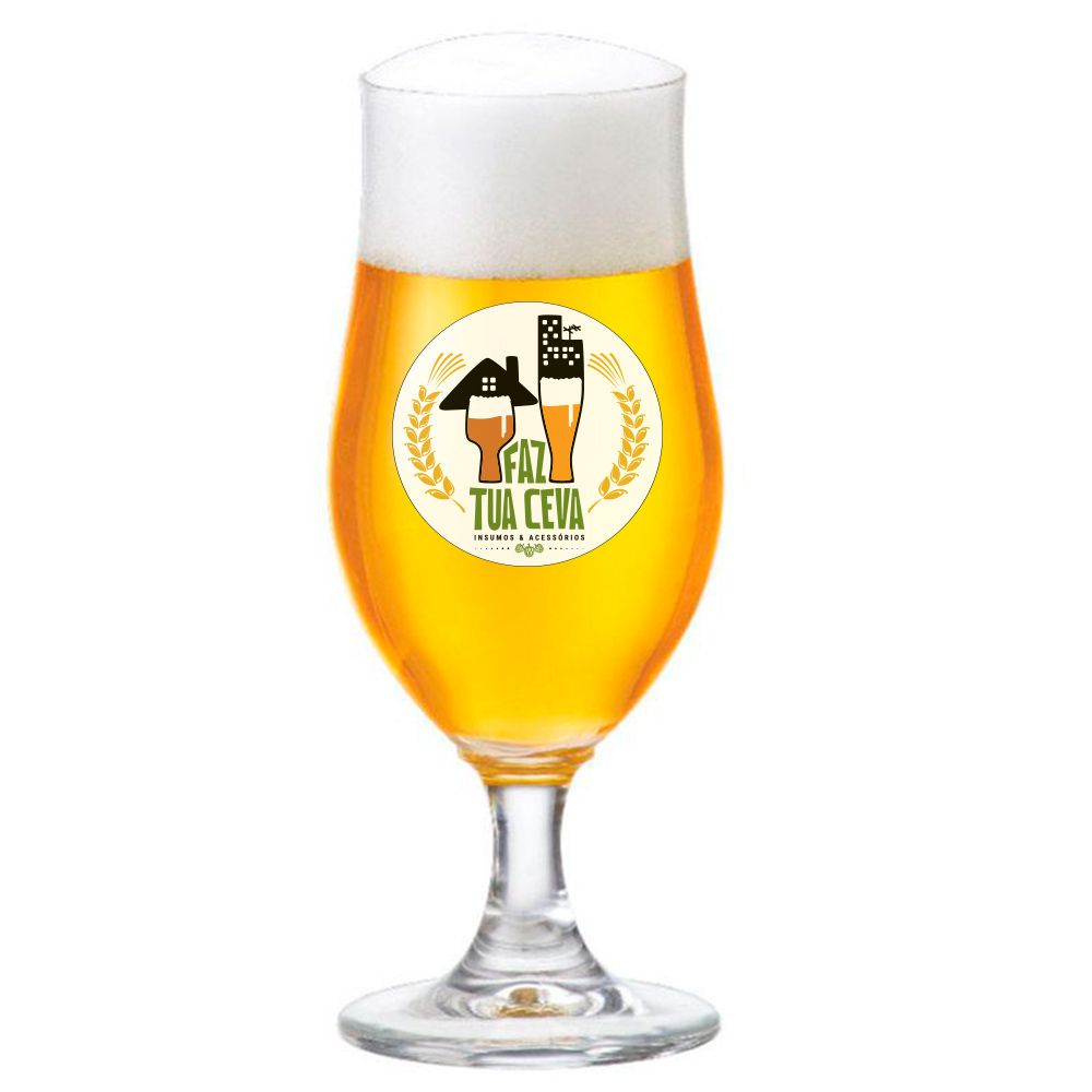Taça de Cerveja Tulipa Cristal Nevada P 325ml