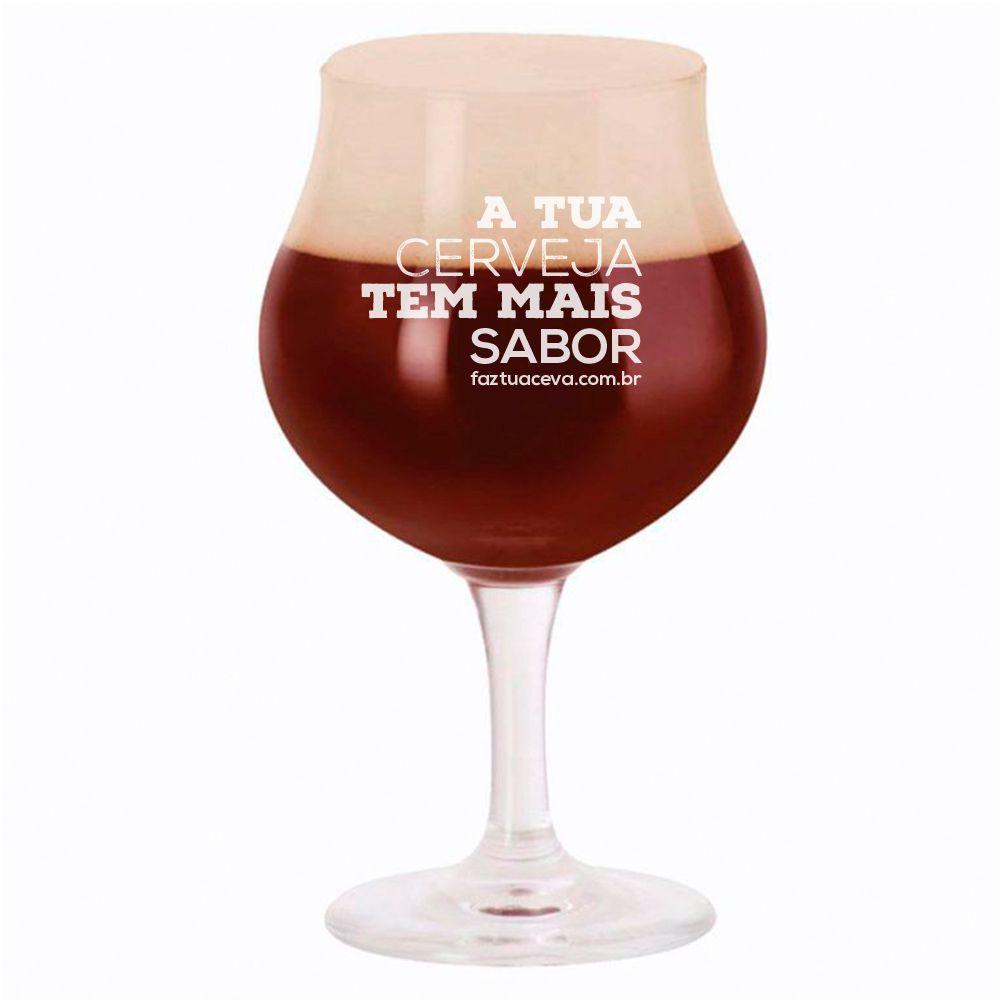 Taça de Cerveja Tulipa Cristal Thanis 580ml