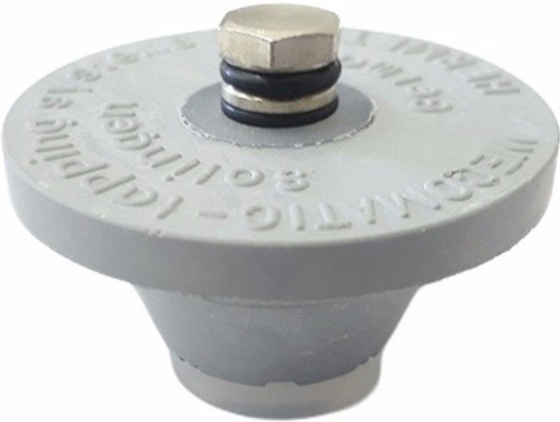 Tampão com Alívio de Pressão para Mini Keg