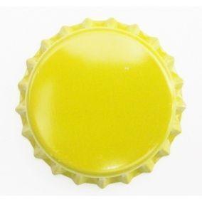 Tampinha Pry-Off - Amarelo (100 Unid.)