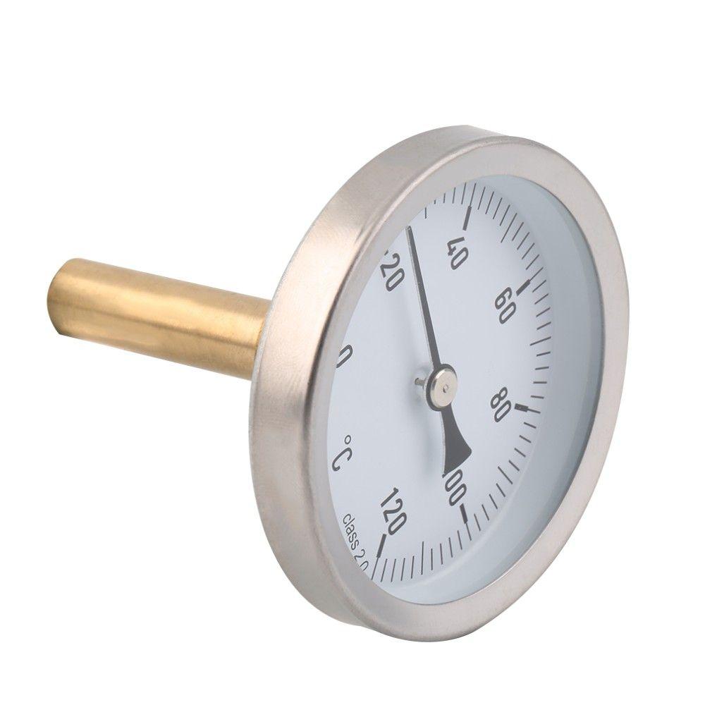 Termômetro com Poço Termométrico Cervejeiro