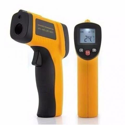 - Termômetro Digital Infravermelho Mira Laser (-50ºc A 400ºc)