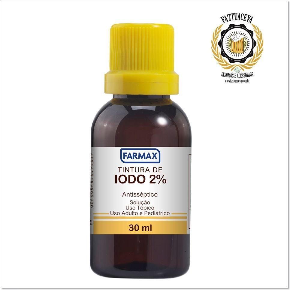 Tintura de Iodo 2% - 30ml