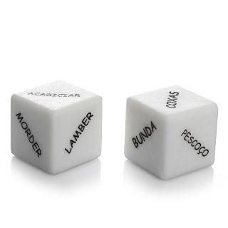 Dado Cubo do Amor - caixa com 2 unidades