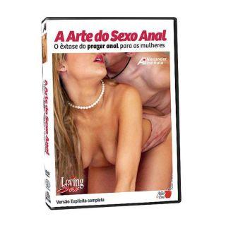 DVD - A Arte do Sexo Anal - O êxtase do prazer anal para as mulheres
