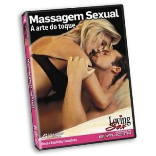 DVD - Massagem Sexual - A arte do toque