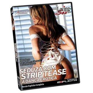 DVD - Seduza com Strip Tease - A dança erótica