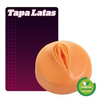 Tapa lata em formato de vagina 2 - diversas cores
