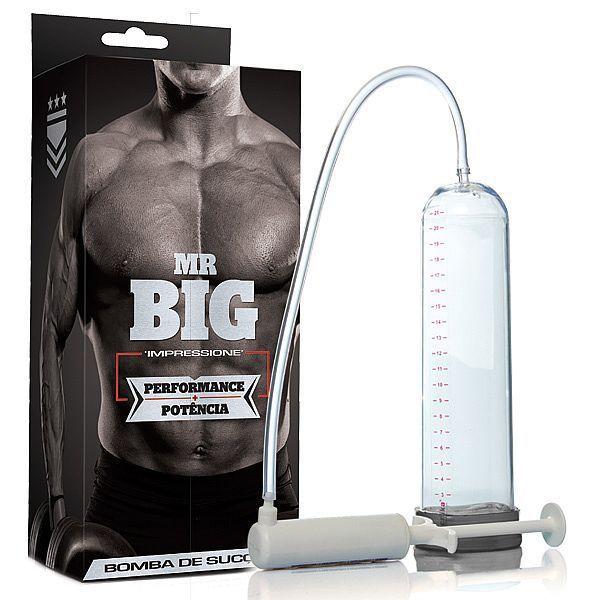 Bomba peniana manual Pumper Man - transparente