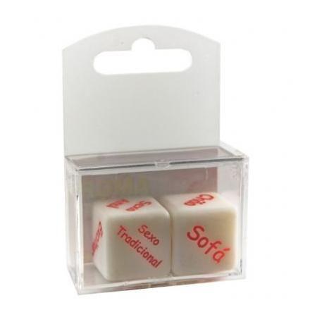 Dado Cubo do Amor Hot - caixa com 2 unidades