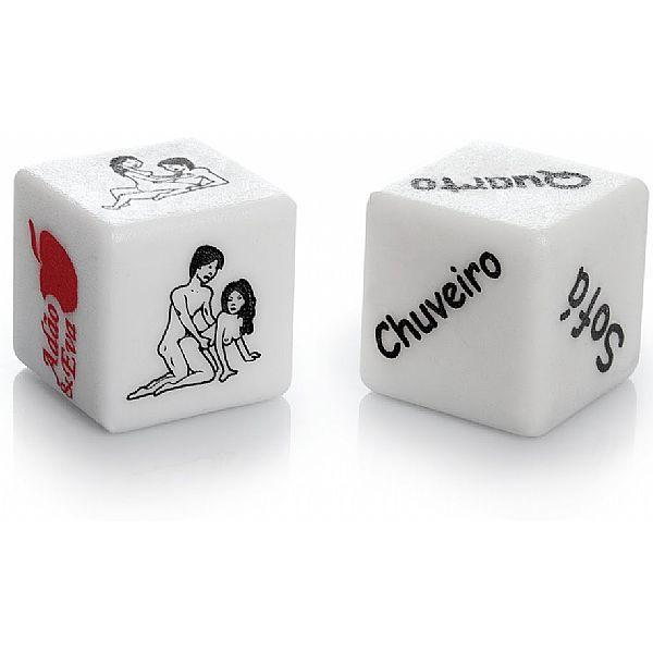 Dado Jogo do Prazer Hot - caixa com 2 unidades
