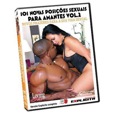 DVD - 101 novas posições sexuais para amantes - volume 3