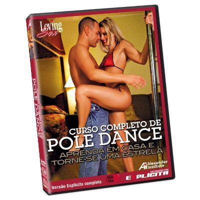 DVD - Curso Completo de Pole Dance