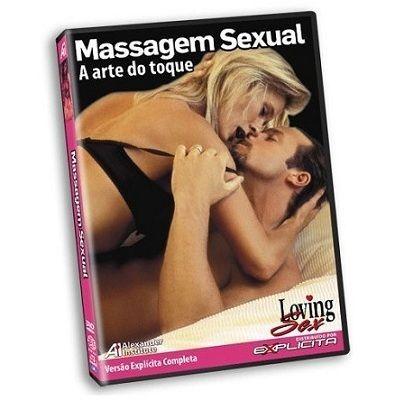 DVD - Massagem Sexual - A arte do toque