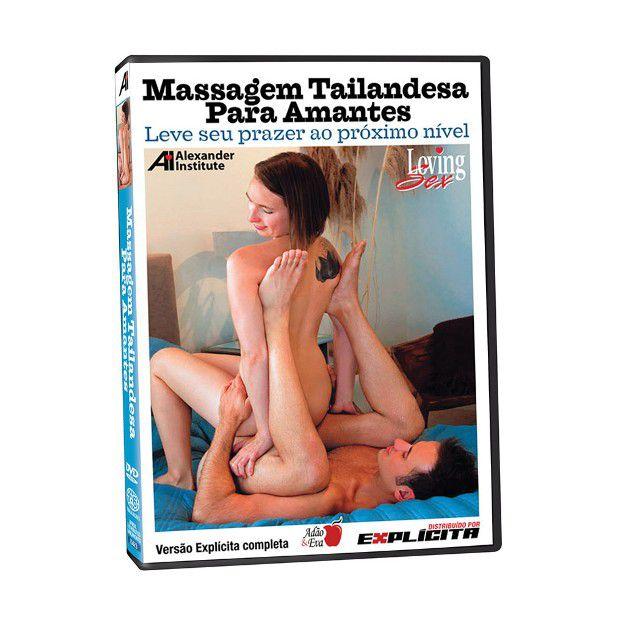 DVD - Massagem Tailandesa - para amantes