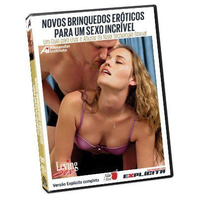 DVD - Novos brinquedos eroticos par a um sexo incrivel