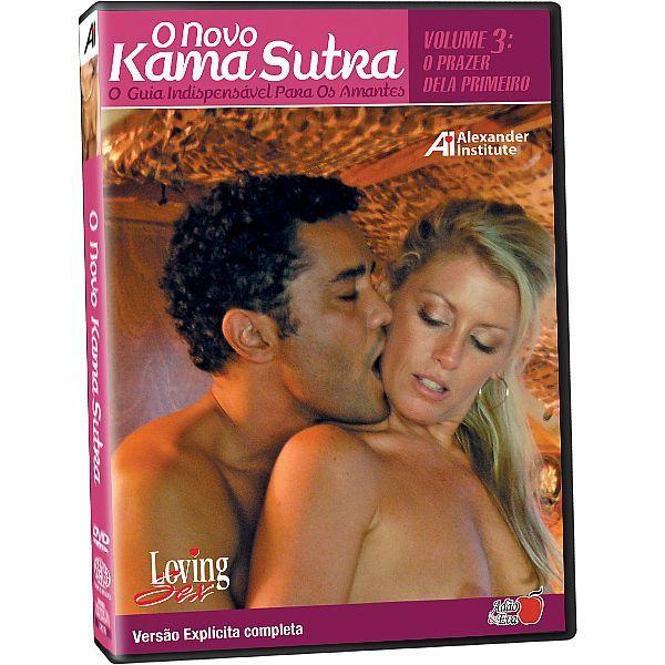DVD - O Novo Kama Sutra - Volume 3 - O prazer dela primeiro