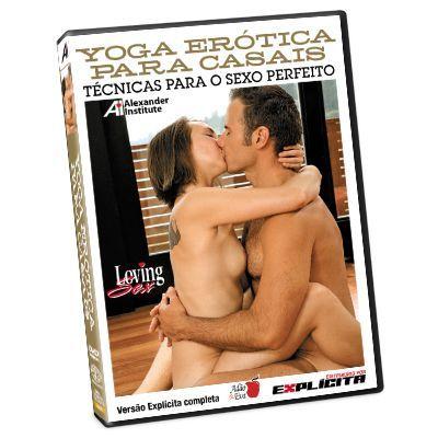 DVD - Yoga erótica - para casais
