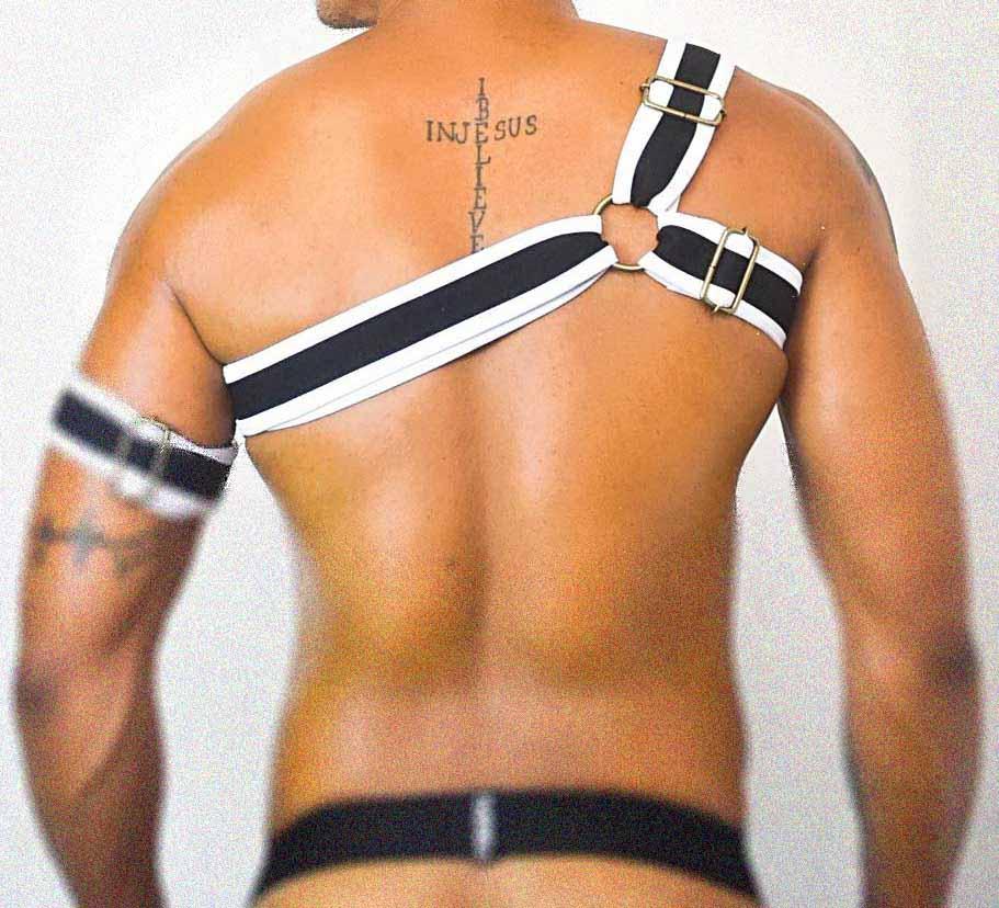 Harness Gladiador – BWG – Buups! – Ajustável