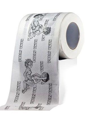 Papel higiênico erótico divertido