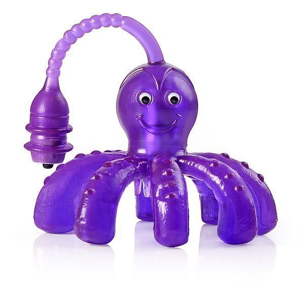 Vibrador Octopussy - formato de polvo - 2 vibradores