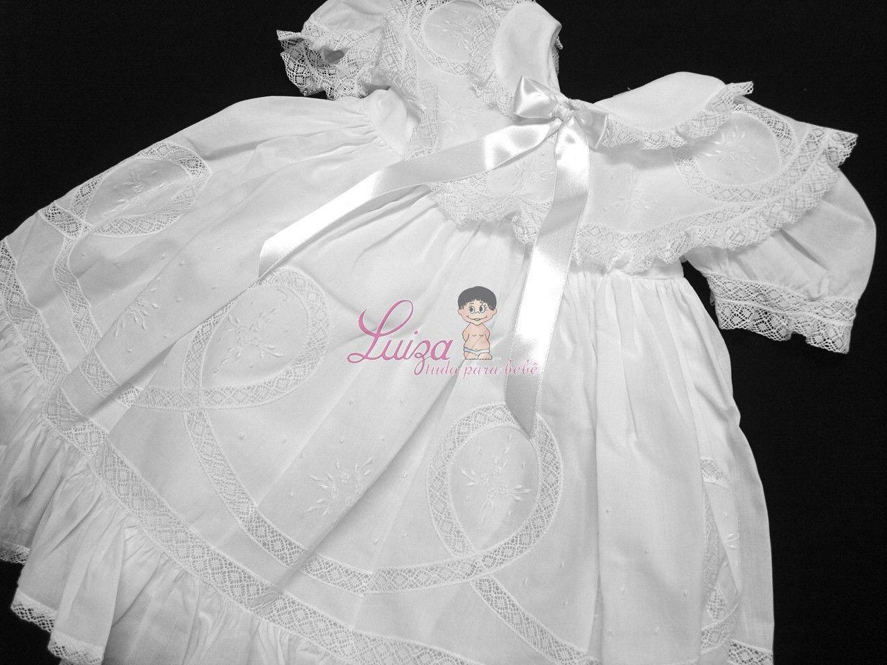 Vestido Cambraia  Esther Batizado